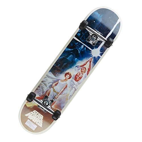 Santa Cruz Star Wars A New Hope Skateboard Unisex Erwachsene, Mehrfarbig
