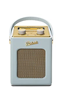 Roberts Radio Revival Mini DAB/DAB+/FM Digital Radio - Duck egg blue (B008RVM228) | Amazon Products