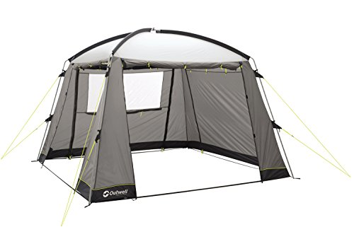 Outwell Oklahoma Zeltpavillon, Grey/White, 300 x300 x 225 cm - Wind Stabilizer