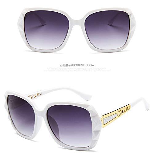 KCJKXC High-End-Sonnenbrille-Frauen-Markendesigner-Gradient-Objektiv, Das Sonnenbrille Fährt