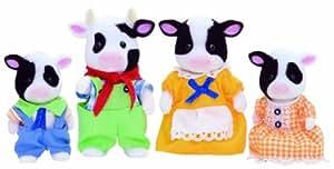 Sylvanian Families Friesian Cow Family
