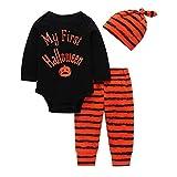 Vestito Carnevale Bambina,Halloween Decorazioni,Halloween Accessori Bambina,Cosplay per Halloween party,6 mesi,Nero