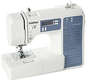 Brother FS100WT Machine á Coudre Électronique, avec Table d'extension Quilt e Patchwork ( 100 Points de Couture )
