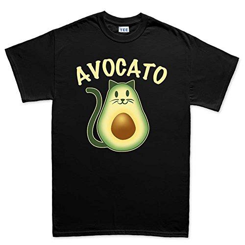 avocado-avocato-cat-kitten-kitty-pet-t-shirt-s-black