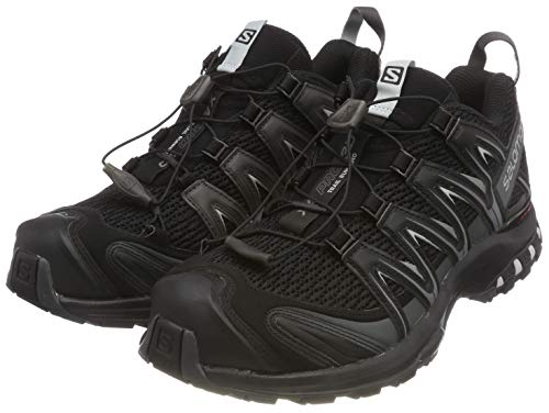 Salomon XA PRO 3D', Herren Traillaufschuhe, Schwarz (Black/Magnet/Quiet Shade), 44 EU (9.5 UK)