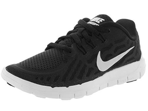Nike 'Free 5' Sportschuhe Black/White/Dark Grey/Cl Grey