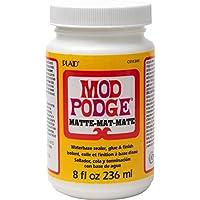 Mod Podge 236ml 8 oz. Matt, Color Blanco, 236 ml (900112/301)