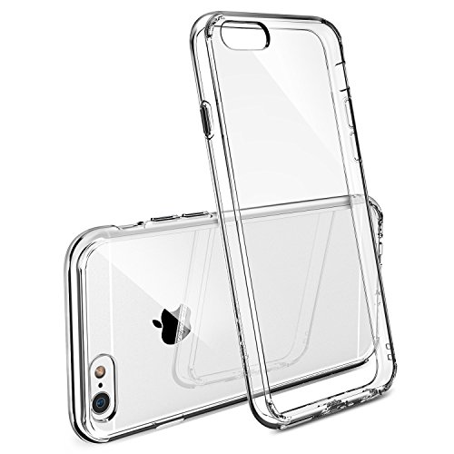 Rearth Ringke Fusion Premium Crystal Clear Back Shock Absorption Bumper Hard Case For Apple iPhone 6/6s 4.7 Inch (Transparent)