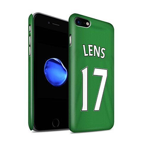 Offiziell Sunderland AFC Hülle / Matte Snap-On Case für Apple iPhone 7 / Harper Muster / SAFC Trikot Away 15/16 Kollektion Lens