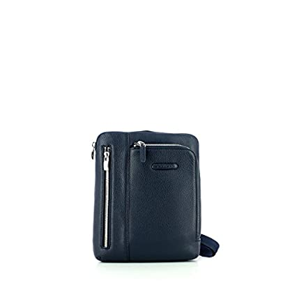 PIQUADRO iPad shoulder pocket bag with pocket for mp3 player Modus