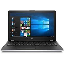 "HP Notebook 15-bs127ns - Ordenador Portátil 15.6"" HD (Intel Core i5-8250U, 8 GB RAM, 256 GB SSD, Intel Graphics, Windows 10), Color Plata - Teclado QWERTY Español [España]"
