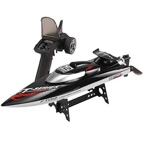 Momola RC Boot Ferngesteuertes Boot,2,4GHz 50km/h High Speed Electric Racing Boot mit Kapsel Standard Funktion Fernbedienung Spielzeug für Anfänger und Kinder