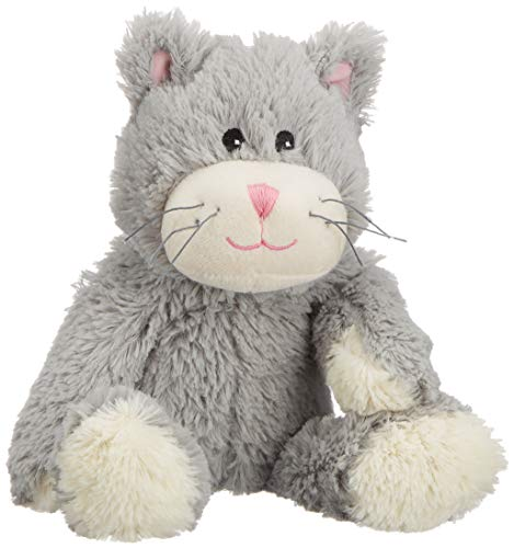 Warmies Beddy Bears Katze, grau