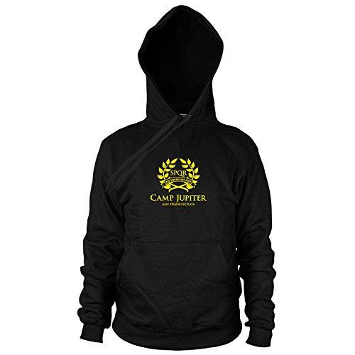 Preisvergleich Produktbild Camp Jupiter - Herren Hooded Sweater, Größe: S, Farbe: schwarz