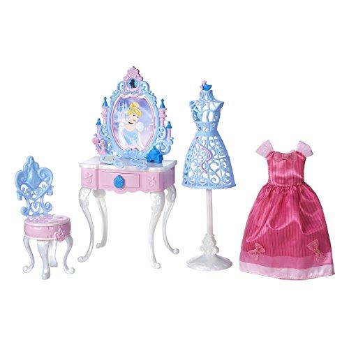 Schminktisch Disney Spiegel Mit (Disney Prinzessin Cinderellas-verzaubertes-Schminktisch-Set)