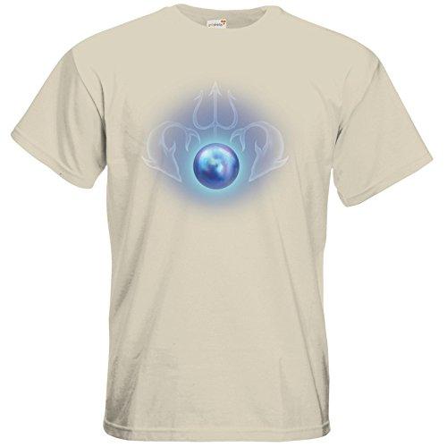getshirts - Das Schwarze Auge - T-Shirt - Die Siebenwindküste - Götter und Dämonen - Efferdperle Natural
