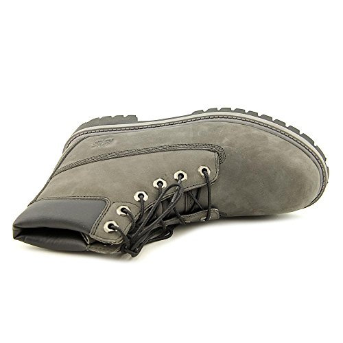 Timberland 6in Prem Wp, Unisex-Kinder Stiefel Grey