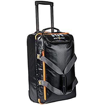 40a4bf197f4 Helly Hansen Workwear Waterproof Trolley Bag, Water-proof, 1 Pack, 50 L,  Black, 34-079567-990 STD