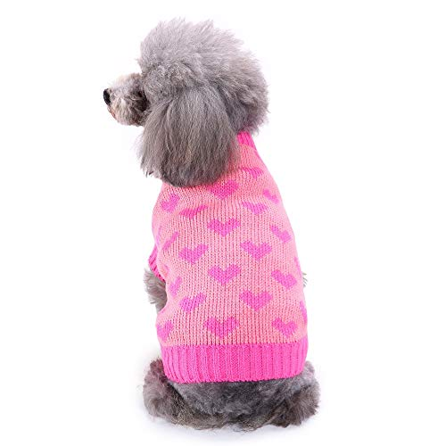 Upxiang Haustier Hund Katze Pullover Puppy Winter warme -
