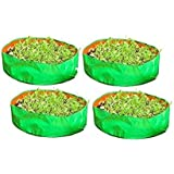 "COIR GARDEN Terrace Gardening HDPE Grow Bags for Vegetable Plants, Spinach(Palak) Grow Bags (24""x9"" inches) - [60cms(L…"