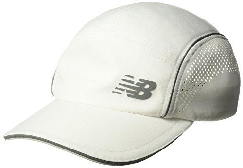 New Balance Laser Perf Run Hat, Unisex, 500291, weiß, Einheitsgröße -