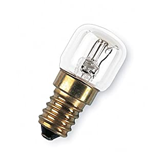 Osram oven Light E14 up to 300 Degrees Screw Base/Clear, 2700 K, Warm White, 15 W