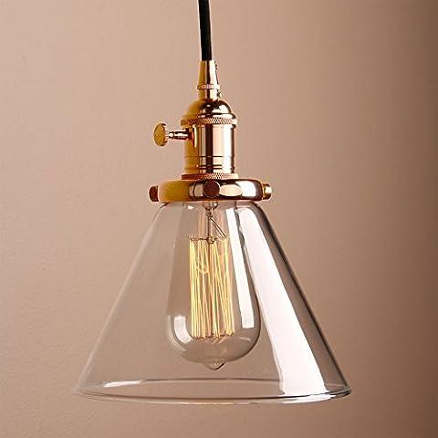 Pathson Industrial Vintage Pendant Light Fitting Ceiling Lamp Hanging Light