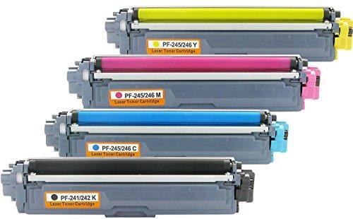Preisvergleich Produktbild Bubprint 4 Toner kompatibel für Brother TN-242 TN-246 HL-3142CW MFC-9142CDN MFC-9332CDW DCP-9022CDW HL-3172CDW MFC-9342CDW HL-3152CDW DCP-9017CDWG1
