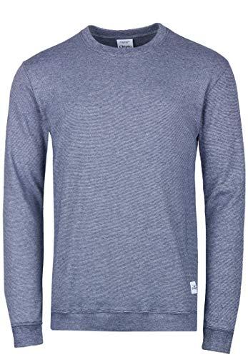 Cleptomanicx Herren Sweatshirt Larry 3, Größe:L, Farben:Dark Navy