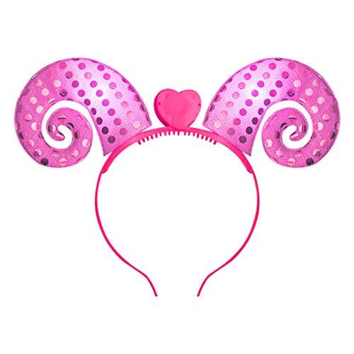 Kinder Mädchen party Haarband Blumen Kopfschmuck Haarband, Einhorn Kopfbedeckungen Stirnbänder Baby Mädchen-Stirnbänder Bowknot Haarschmuck für Mädchen Kinder Stoff Haarband Geburtstagsfeier ()