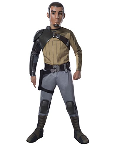 Star Wars-Kostüm Rebellen Kids Deluxe Kanan Jarrus Set, Medium, Alter 5-7, Höhe 4'5.08 cm - 4'15.24 - Kanan Star Wars Kostüm