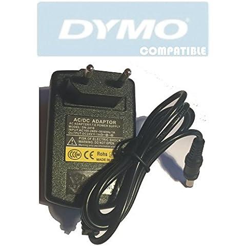 24V Fuente de alimentación para Dymo LabelWriter 400, 450, 330, 320, 310, Duo, Turbo, XL, Twin Turbo