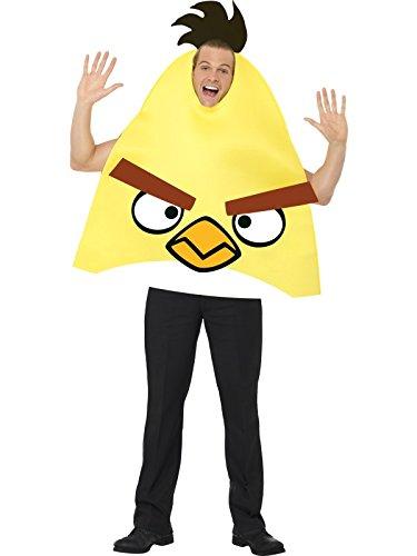 SMIFFY 'S Angry Birds Kostüm-Gelb, Mittel