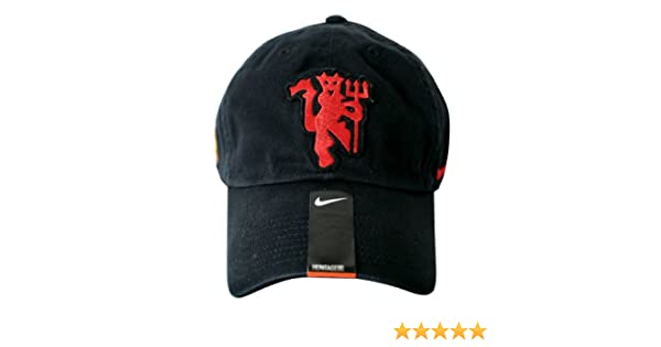 Nike Unisex Adult Manchester United Core Cap One-Size Black  Amazon.co.uk   Sports   Outdoors f995f0806693
