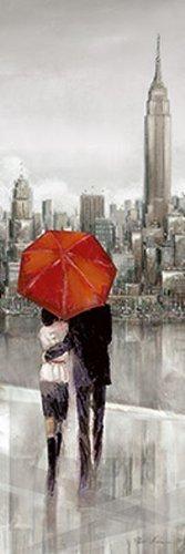 Fertig-Bild - Ruan Manning: New York Stroll 30 x 90 cm