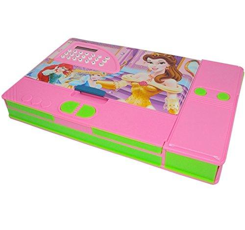 Jiada BIG SIZE Multipurpose Calculator Magnetic Pencil Box (For Girls)