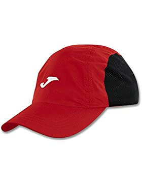 Joma Gorra Running Cap Roja-Negra Talla UNICA