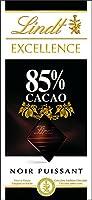 Lindt Excellence Noir 85% 100 g - Lot de 5