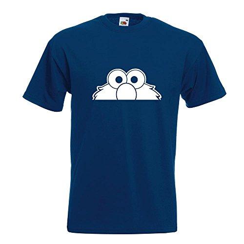 KIWISTAR - Elmo - Halber Elmo - Ernie - Bert T-Shirt in 15 verschiedenen