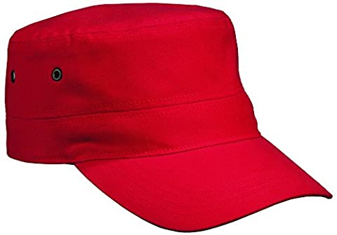 MB Military Style Cap - Red