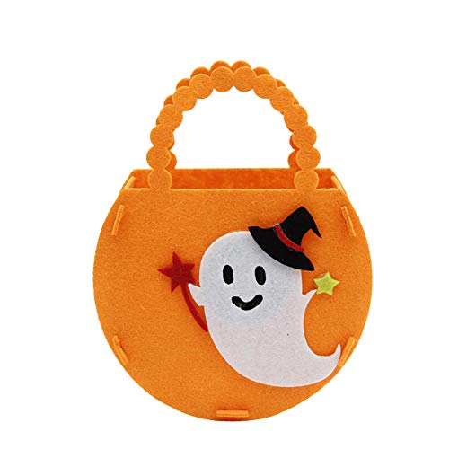 SJZC Halloween SüßIgkeitstaschen Kinder Tote Geschenke Tasche FüR Halloween, Feiertage, Partys,Ghost