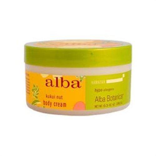 Alba Botanica Hawaiian Spa Traitements Kukui Nut Body Cream 6,5 fl. Oz. 6.5fl. Oz. 217329