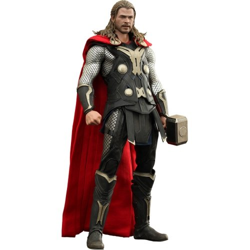 Hot Toys Maßstab 1: 6 Movie Masterpiece Serie The Dark World Thor 2 Figur (Loki Marvel Kostüm)