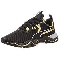 حذاء زون اكس تي بمظهر معدني من بوما, (Black (Black 02)), 37 EU