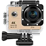 Xmate Shot Pro 16 Mega Pixel, 4K WiFi Sports Waterproof Casing Action Video