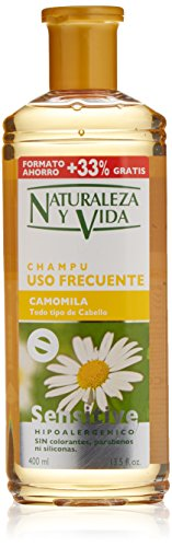 Naturaleza y Vida Shampoo Sensitive Camomila - 300 ml