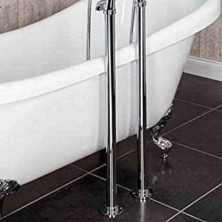 Chrome Freestanding Stand Pipes & Shrouds for Traditional Freestanding Bath Taps
