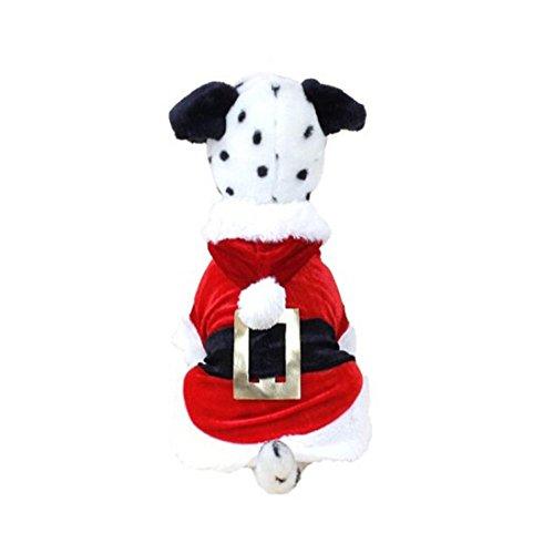 Komisch Hund Kleidung Bovake 2017 Winter Weihnachten Hundebekleidung Sankt-Hündchen-Kostüm-Haustier-Kleid Neuer Entwurf (2017 In Hunde Kostümen)