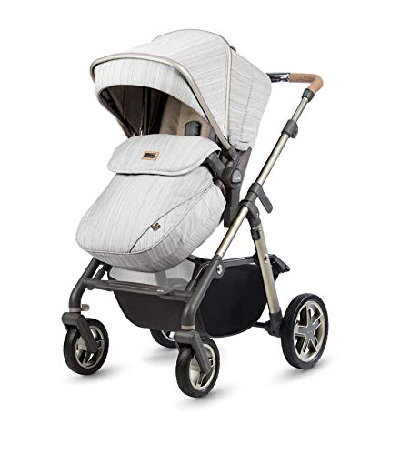 Silver Cross Pioneer Pushchair in Timeless Special Edition Silver Cross Suitable from birth to 25kg Comes with seat unit and carrycot Includes faux fur seat liner and changing bag 2