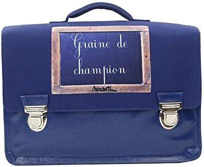 Joyeuses fêtes, bonnes affaires! Cartable 39 Cm Bleu-Miniseri   De Première Qualité